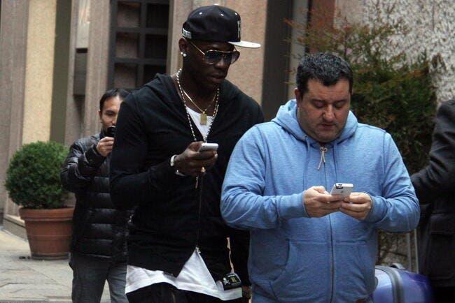 OM : Raiola «l'obèse qui fait ch...» l'OM avec Balotelli !