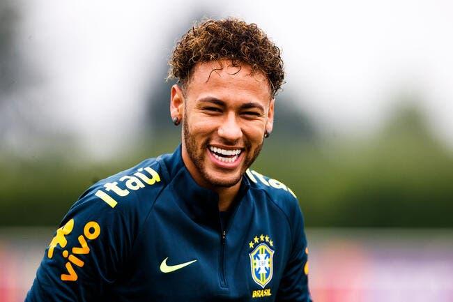 Brésil: Malgré les coups, le grand Neymar est de retour