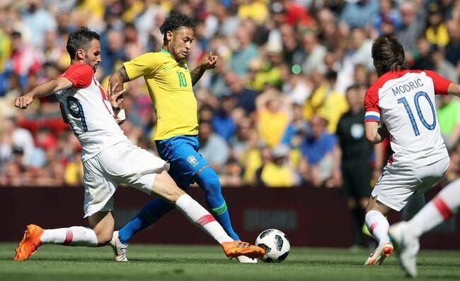 Brésil-Croatie : Neymar signe son retour d'un bijou