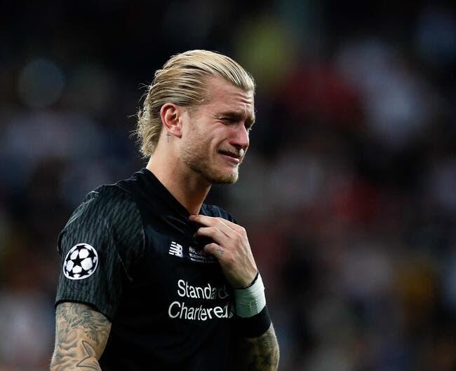Karius a souffert d'une commotion cérébrale durant la finale — Liverpool