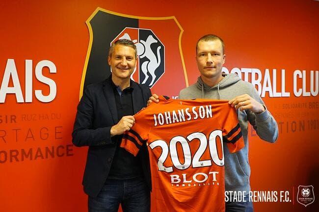 Officiel : Jakob Johansson signe pour deux ans à Rennes !