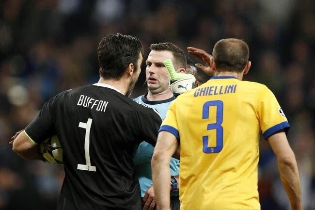 LdC : Trois matchs de suspension, l'UEFA est sympa avec Buffon
