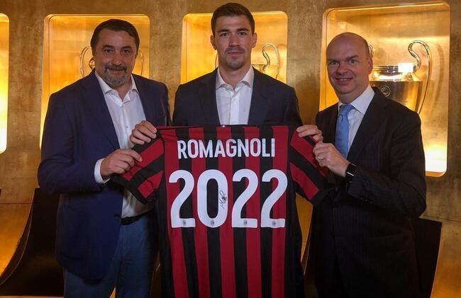 Officiel : Pisté par la Juve, Romagnoli prolonge au Milan AC
