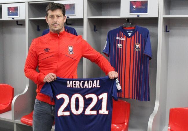 Officiel : Fabien Mercadal devient entraineur de Caen