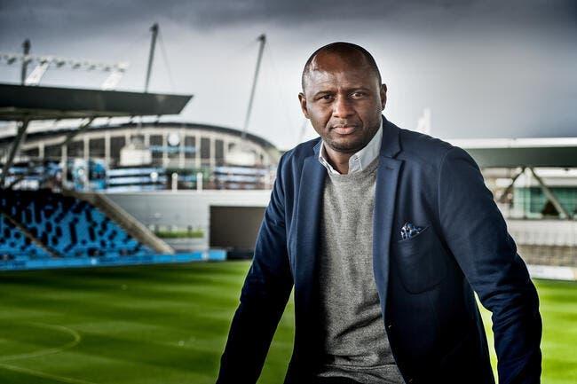 Patrick Vieira nouvel entraîneur de Nice