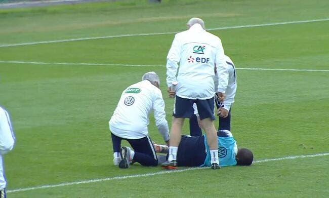 EdF : Rami blesse Mbappé à l'entrainement, sueurs froides chez les Bleus