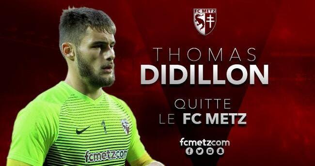 Officiel : Didillon quitte Metz pour la Belgique