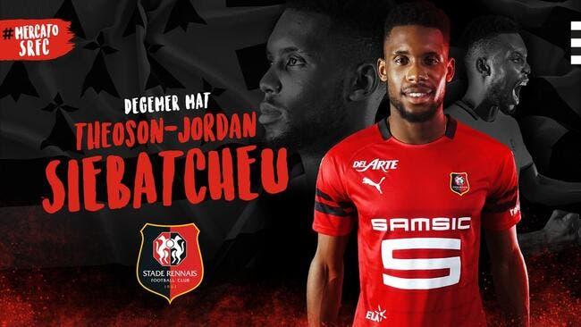 Officiel : Jordan Siebatcheu rejoint Rennes pour 12ME !