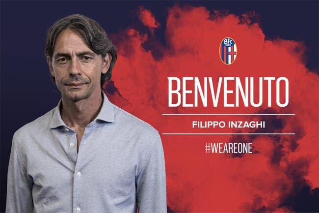 Ita : Pippo Inzaghi nommé entraîneur de Bologne
