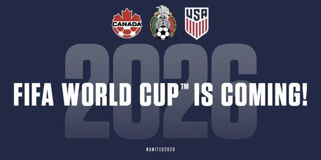 Officiel : Le Mondial 2026 organisé par les USA, le Canada et le Mexique !