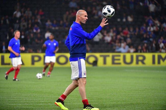PSG : Zidane rend service au PSG pour le fair-play financier !