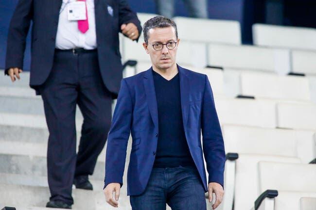 OM: Rassuré par l'UEFA, Eyraud promet un mercato de feu