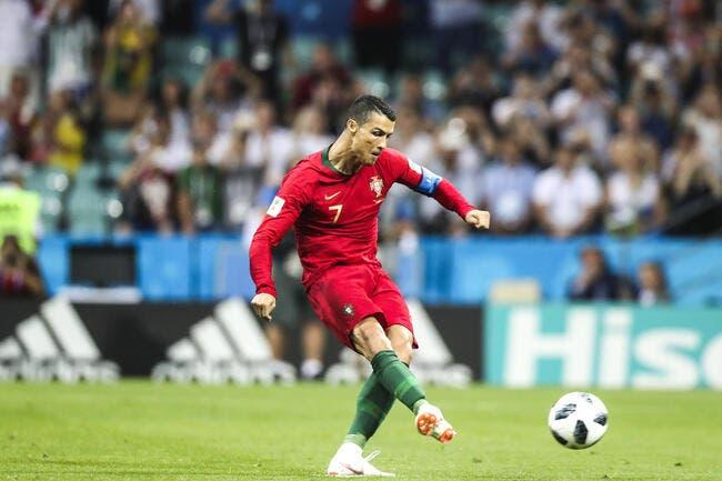 Le coup-franc chirurgical de Cristiano Ronaldo