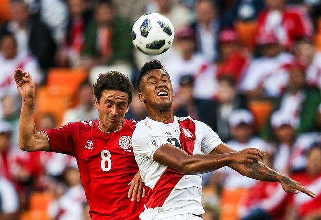 Mondial 2018: victoire pour le Danemark qui bat le Pérou 1-0
