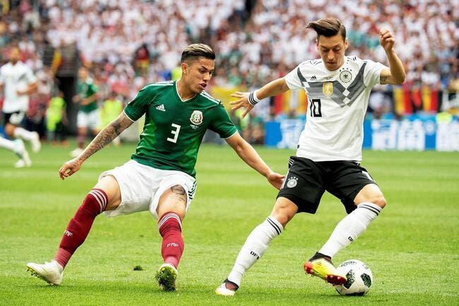 Surprise, le Mexique fait tomber l'Allemagne !