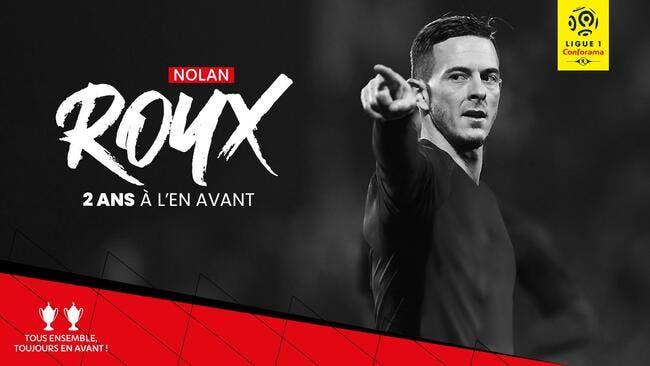 Officiel: Nolan Roux reste en Ligue 1 et signe à Guingamp