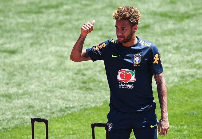 PSG : Neymar se blesse à l'entraînement, le Brésil tremble