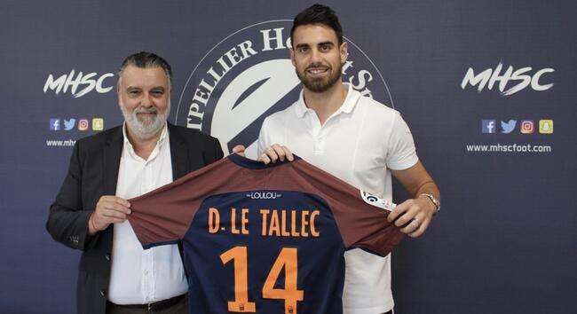 Officiel : Damien Le Tallec signe à Montpellier
