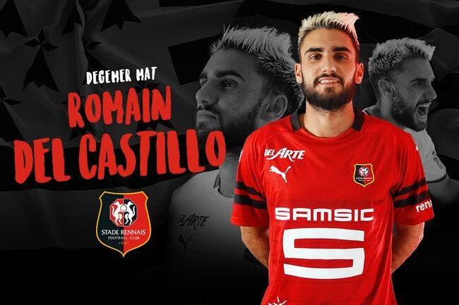 Officiel : Del Castillo quitte l'OL pour Rennes et 2 ME