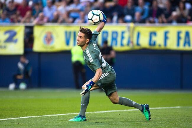 Liga - Real Madrid : Un jeune gardien ukrainien arrive