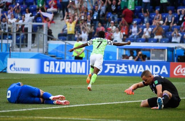 Le Nigeria laisse une chance à l'Argentine