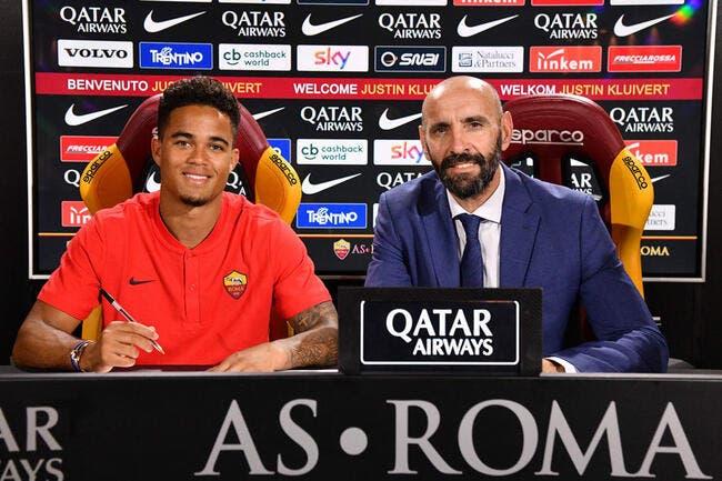 Officiel: Justin Kluivert signe à l'AS Roma pour 17 ME
