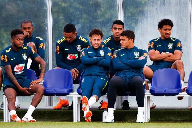 Brésil: Insulté par Neymar, Thiago Silva ne digère pas leur clash
