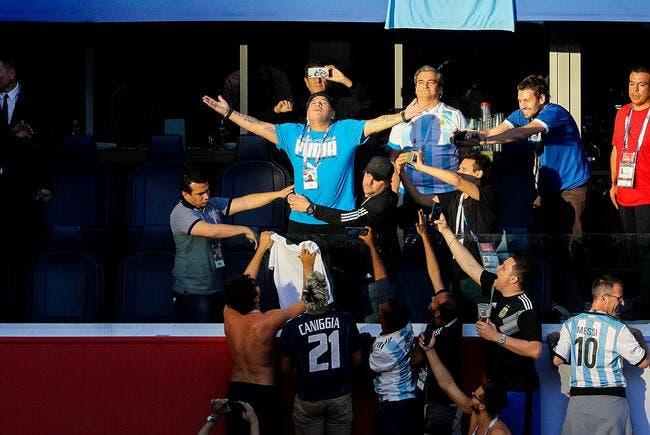 Le spectacle Maradona — Argentine-Nigeria