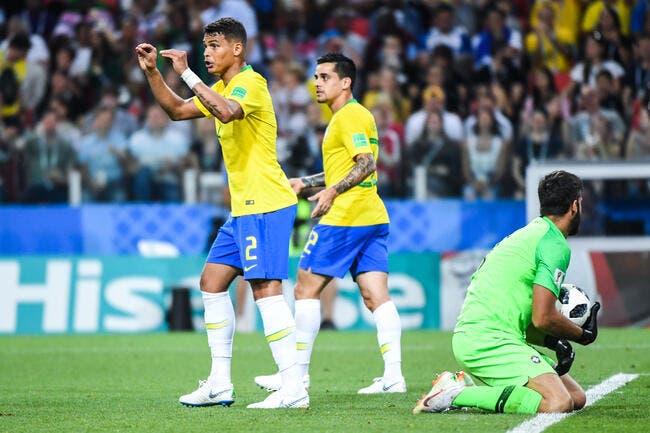PSG: Buffon et Neymar, la mise au point de Thiago Silva