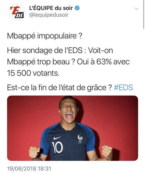 Pelé et Bianchi félicitent Mbappé