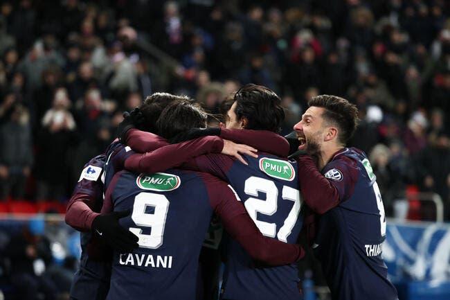 CDF : Le PSG ira à Caen en demi-finales