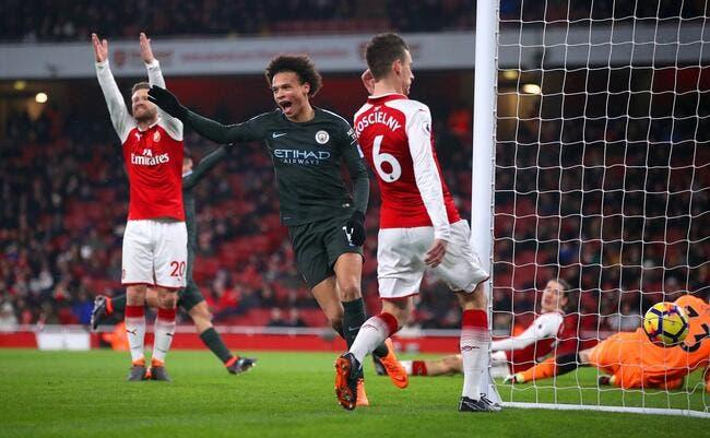 PL : Man City ne fait qu'une bouchée d'Arsenal