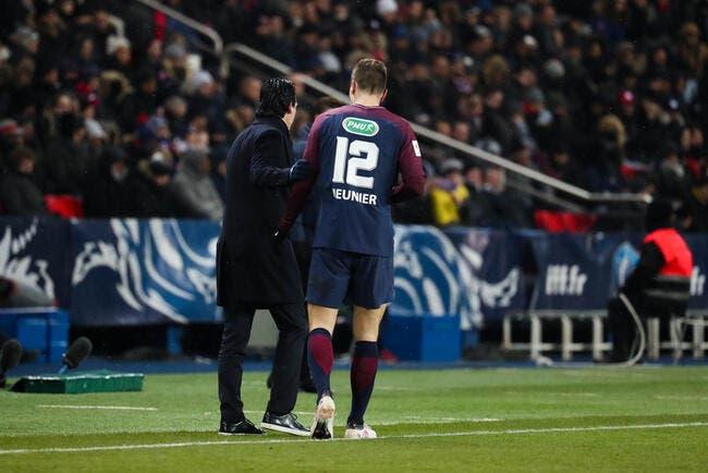 PSG: Ça a chauffé entre Emery et Meunier! Le coach s'explique