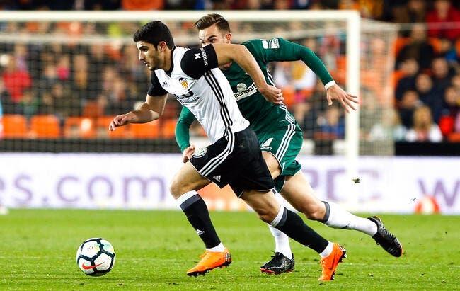 Pas assez riche, Valence abandonne pour Guedes — PSG