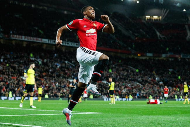 Man Utd : Contre Liverpool, Martial peut inscrire un but à 10 ME