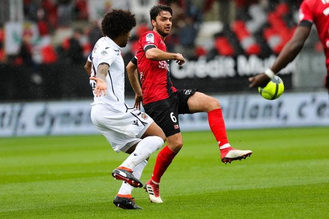Guingamp - Nice : 2-5