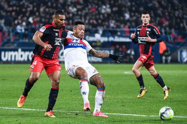 L'OL retrouve la victoire face à Caen (1-0)