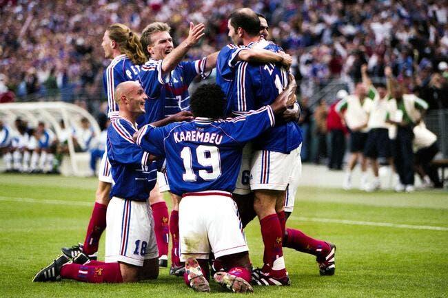 Equipe de france france 98 un match tr s haut de gamme pour f ter les 20 ans foot 01 - France 98 coupe du monde ...