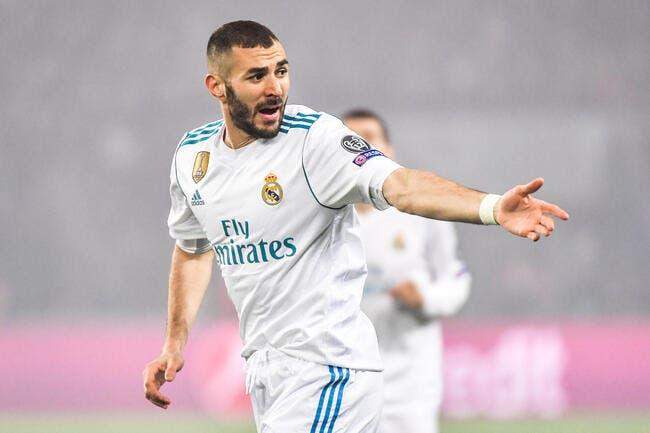 Mercato : Le Real Madrid prépare un sale coup à Benzema