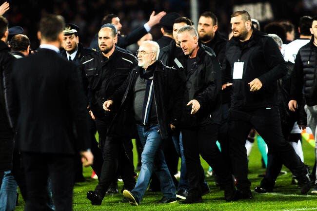 Grèce: Le président du PAOK prend la parole