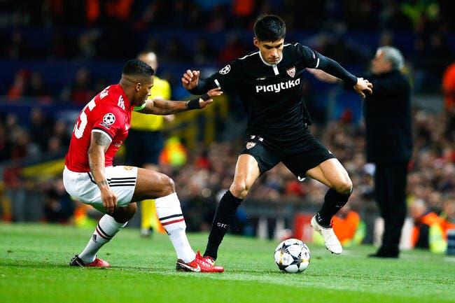 LdC : Manchester United - FC Séville 1-2