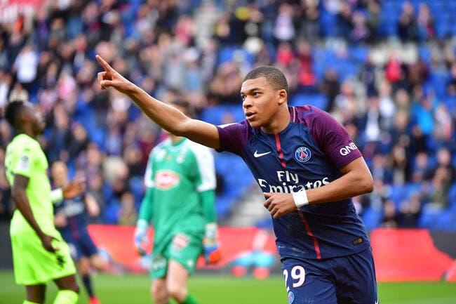 A 10 contre 11, le PSG peut compter sur Mbappé