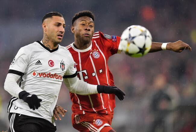 Besiktas - Bayern Munich : 1-3