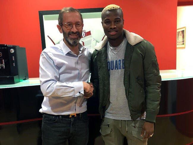 LOSC : Youssouf Koné prolonge à Lille jusqu'en 2022