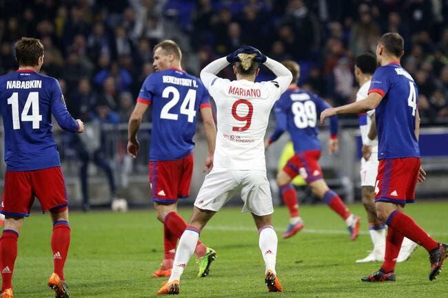 EL : Triste fin pour l'OL de Genesio contre le CSKA Moscou...