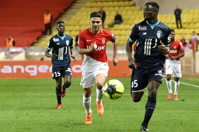 L1 : Monaco - Lille : 2-1