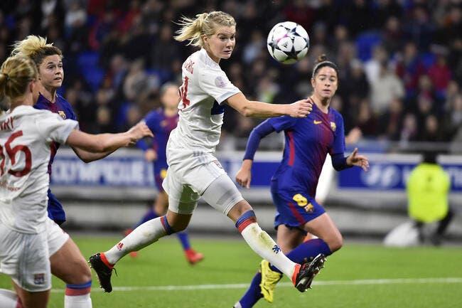LdC féminine : L'OL bat le Barça au Groupama Stadium