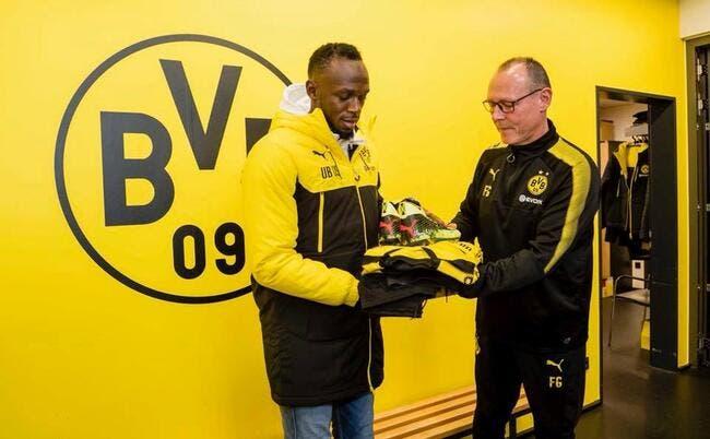 Dortmund: Que vaut vraiment Usain Bolt au foot ? Le monde va savoir