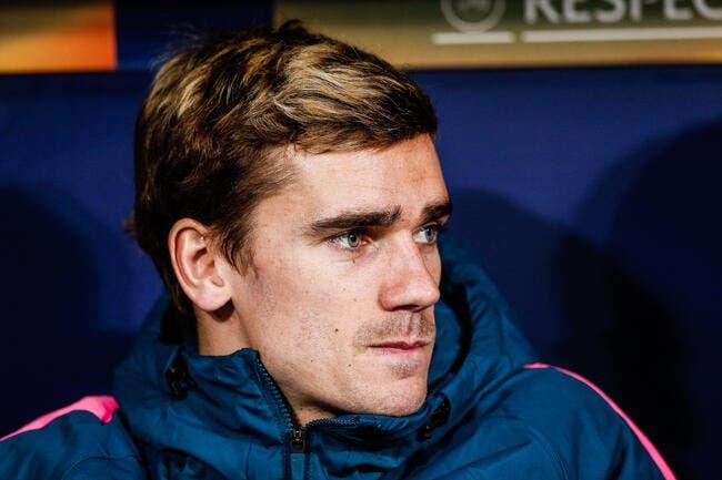 Esp: L'Atlético recadre sèchement Griezmann sur son avenir