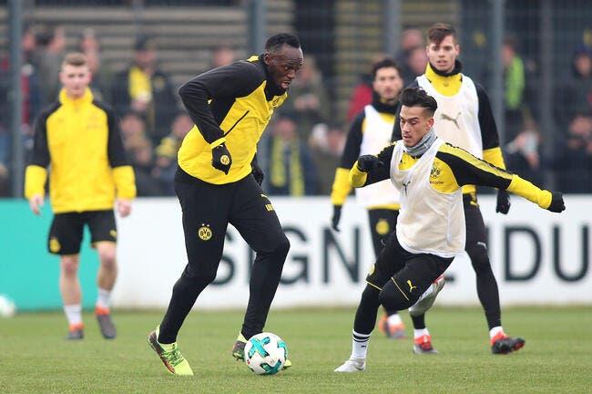All: Usain Bolt à Dortmund, Larqué n'a pas eu le coup de foudre